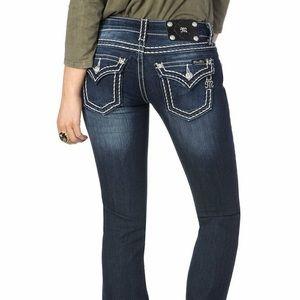 MissMe signature boot cut jeans
